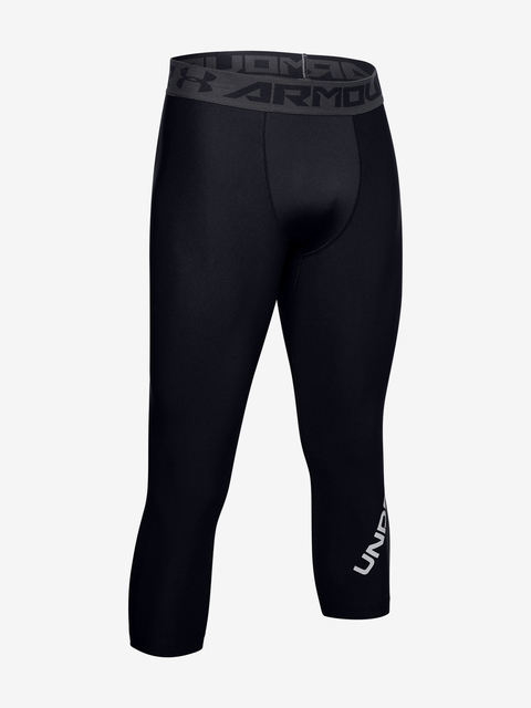 Legíny Under Armour GRAPHIC 3/4 LEGGINGS-BLK