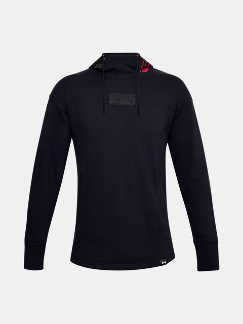 Mikina Under Armour CNY FLEECE HOODIE-BLK