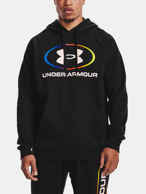 Mikina Under Armour RIVAL FLEECE LOCKERTAG HD-BLK