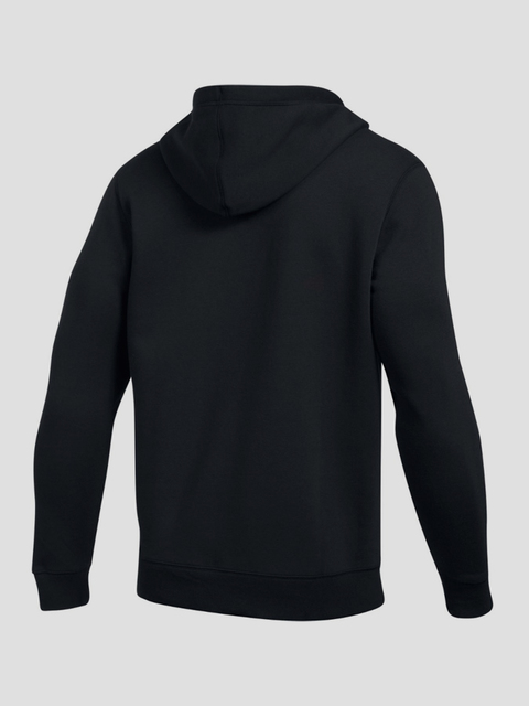 Mikina Under Armour Rival Fitted Full Zip-BLK