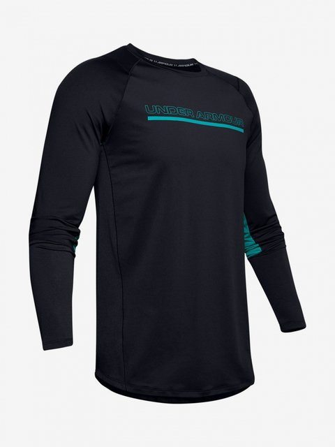 Tričko Under Armour Mk1 Ls Wordmark-Blk