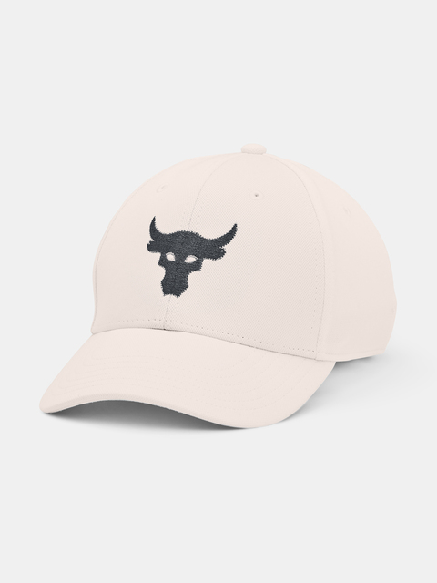 Šiltovka Under Armour  Project Rock Hat-WHT