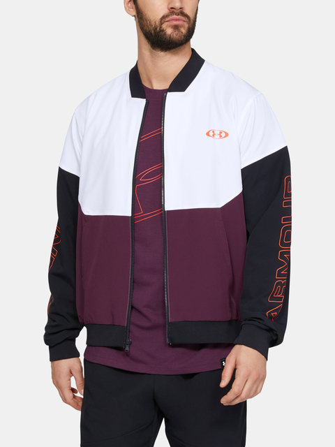 Bunda Under Armour Unstoppable 96 Bomber-Wht