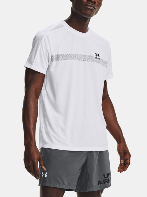 Tričko Under Armour UA Speed Stride Graphic SS-WHT