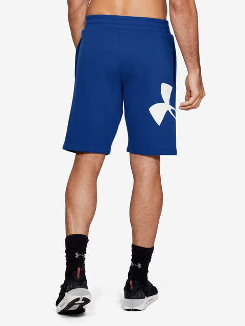 Kraťasy Under Armour RIVAL FLEECE LOGO SWEATSHORT-BLU