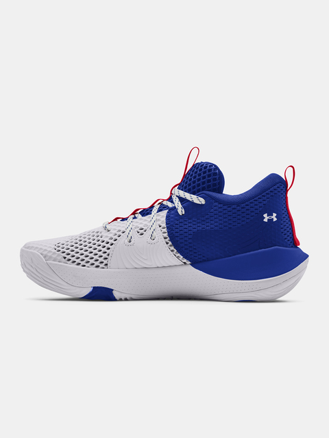 Topánky Under Armour  Embiid 1-WHT