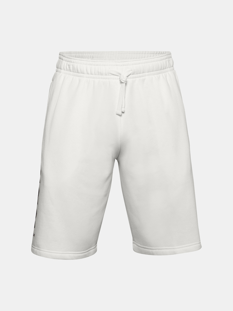 Kraťasy Under Armour UA Rival Flc Multilogo Short-WHT