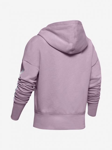 Mikina Under Armour SportStyle Fleece Hoodie-PNK