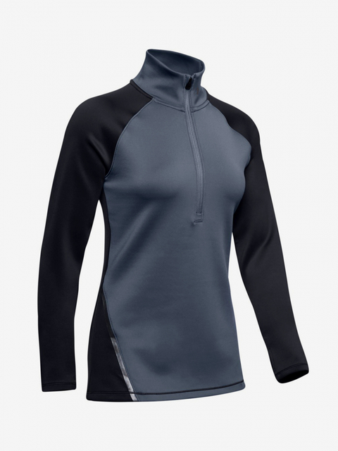 Tričko Under Armour Cg 1/2 Zip Color Block-Blu
