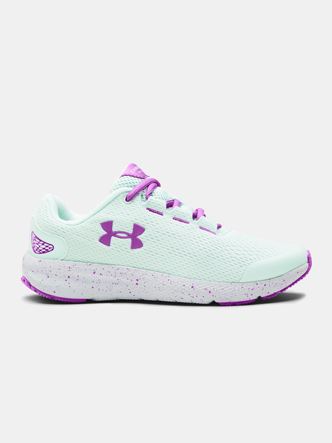 Topánky Under Armour GS Charged Pursuit 2-BLU