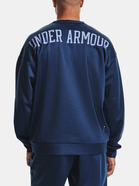 Mikina Under Armour UA RECOVER LS CREW-NVY