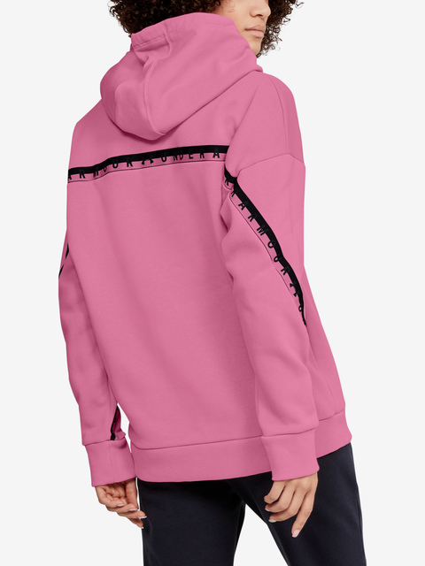 Mikina Under Armour Fleece Hoodie Taped Wm