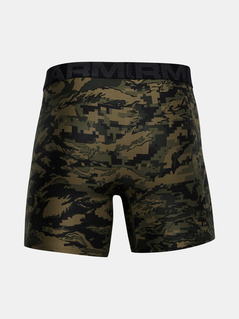 Boxerky Under Armour UA Tech 6in Novelty 2 Pack-GRN