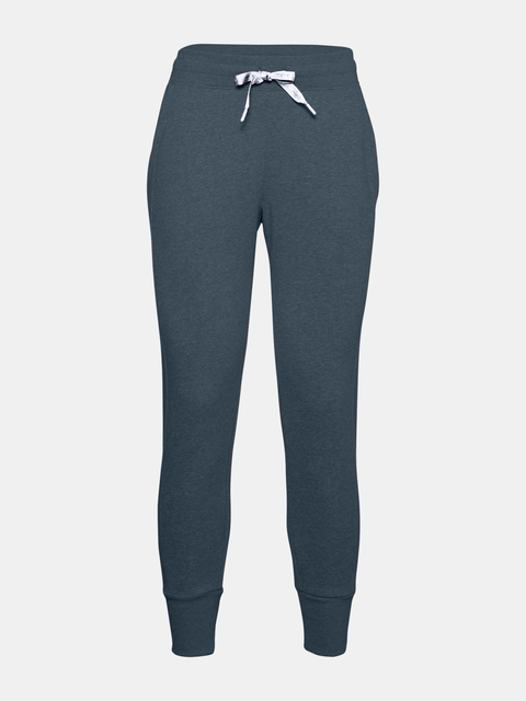 Nohavice Under Armour UA Rival Fleece EMB Pant-BLU