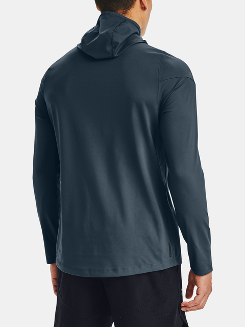 Mikina Under Armour UA Rush ColdGear 2.0 Hoodie-BLU