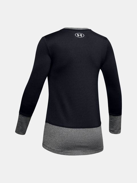 Tričko Under Armour ColdGear LS Crew-BLK