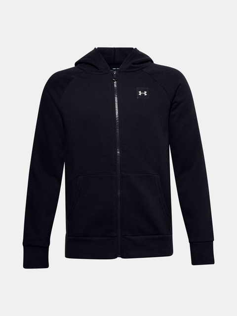 Mikina Under Armour UA RIVAL FLEECE FZ HOODIE-BLK