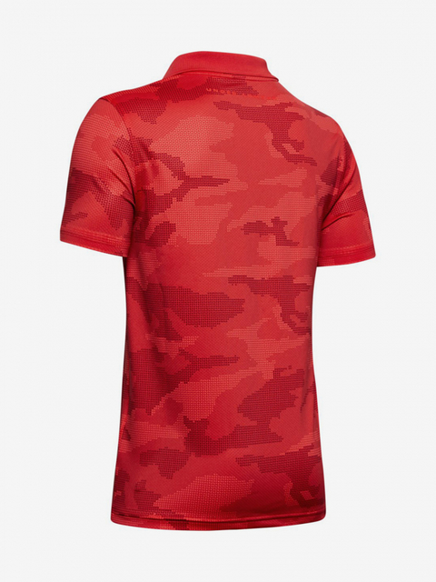 Tričko Under Armour Performance Polo 2.0 Novelty-Red