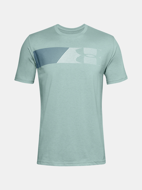 Tričko Under Armour UA FAST LEFT CHEST 2.0 SS-BLU