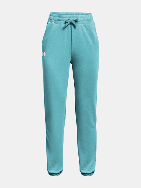 Tepláky Under Armour Rival Terry Taped Pant-BLU