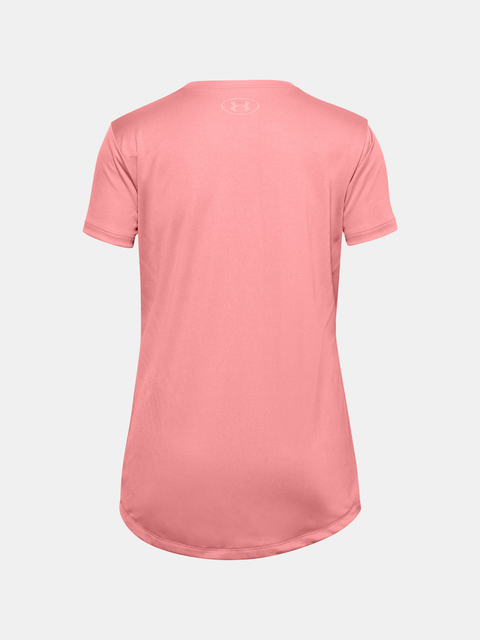 Tričko Under Armour Branded SS Tech Tee-PNK