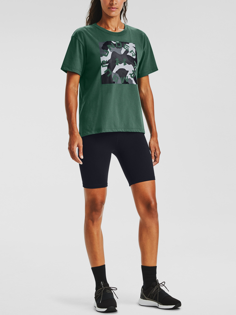 Tričko Under Armour Live Fashion Camo Graphic SS-GRN