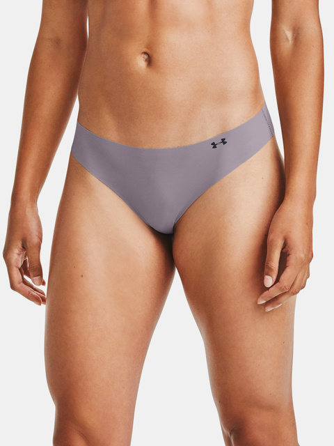 Boxerky Under Armour PS Thong 3Pack Print-PPL