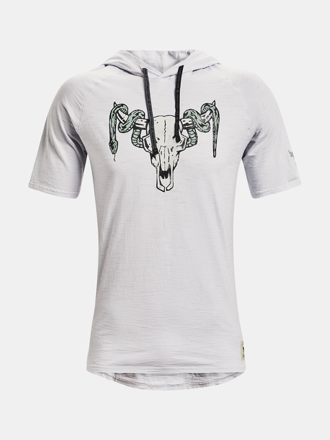 Mikina Under Armour  PROJECT ROCK CC SS HD-GRY