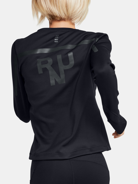Tričko Under Armour Qualifier Coldgear Long Sleeve-BLK
