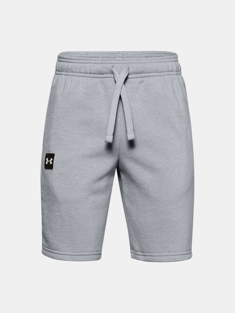 Kraťasy Under Armour UA RIVAL FLEECE SHORTS-GRY