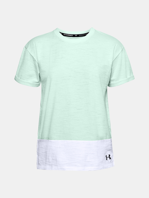 Tričko Under Armour UA Charged Cotton SS-BLU
