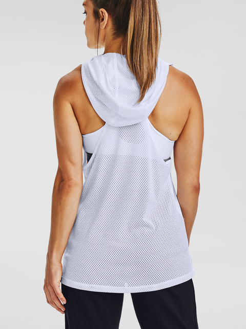 Mikina Under Armour Armour Sport Hooded Tank-WHT