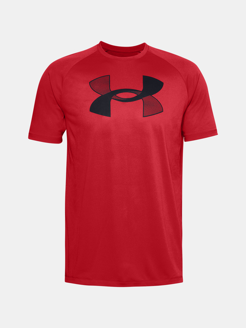 Tričko Under Armour UA BIG LOGO TECH SS-RED