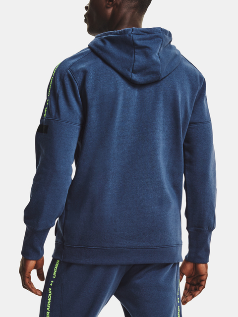 Mikina Under Armour Accelerate Off-Pitch Hoodie-BLU