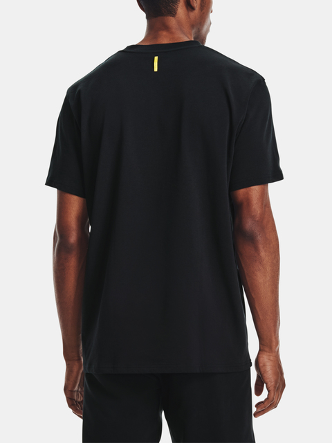 Tričko Under Armour CURRY EMBROIDERED UNDRTD TEE-BLK