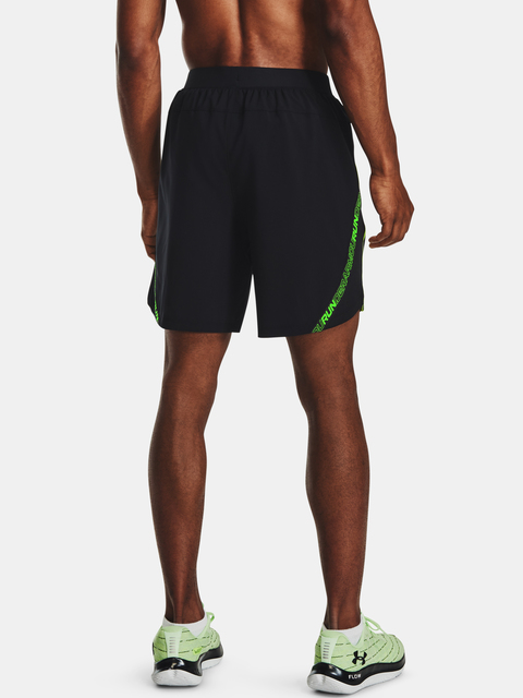 Kraťasy Under Armour Launch SW 7'' Tape Short-BLK