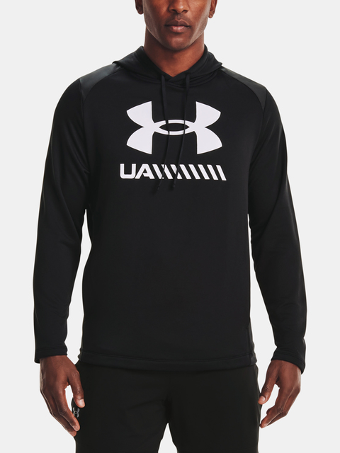 Mikina Under Armour UA TECH TERRY PO HOODIE-BLK
