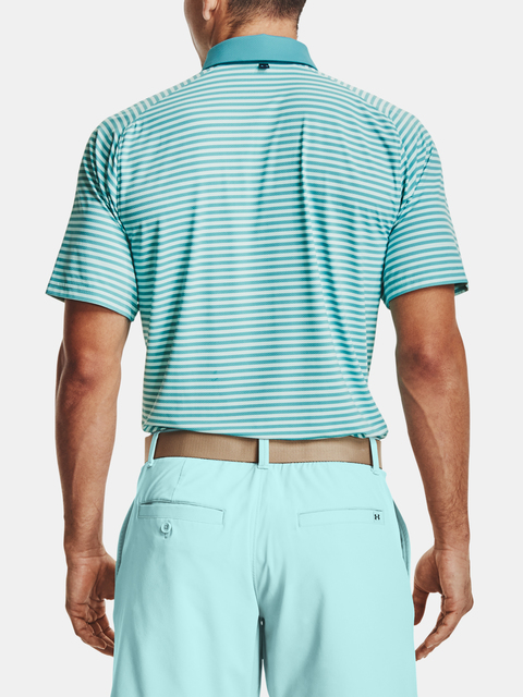 Tričko Under Armour UA Iso-Chill Hollen Stripe P-BLU