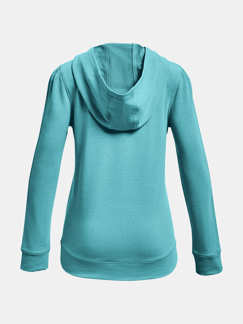 Mikina Under Armour Rival Terry Hoodie-BLU