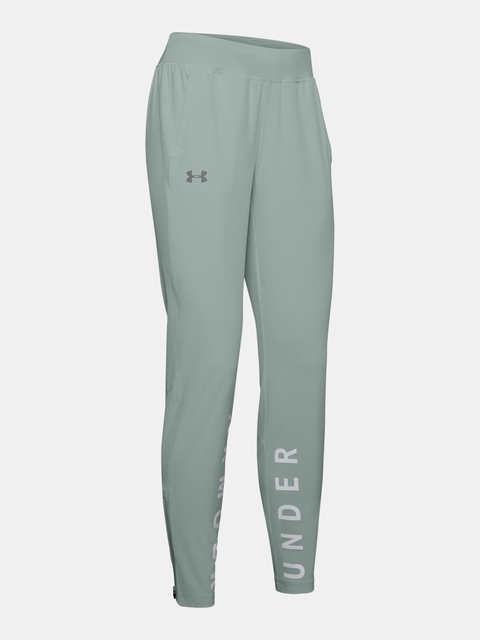 Nohavice Under Armour Storm Launch Linked Up Pant-Grn