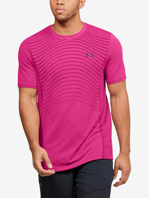 Tričko Under Armour Seamless Wave SS-PNK