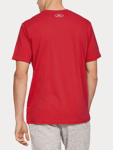 Tričko Under Armour BRANDED BIG LOGO SS-RED