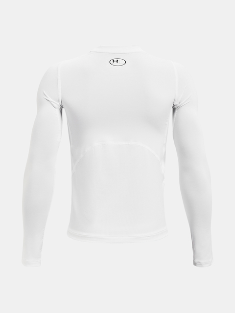 Tričko Under Armour UA HG Armour LS-WHT