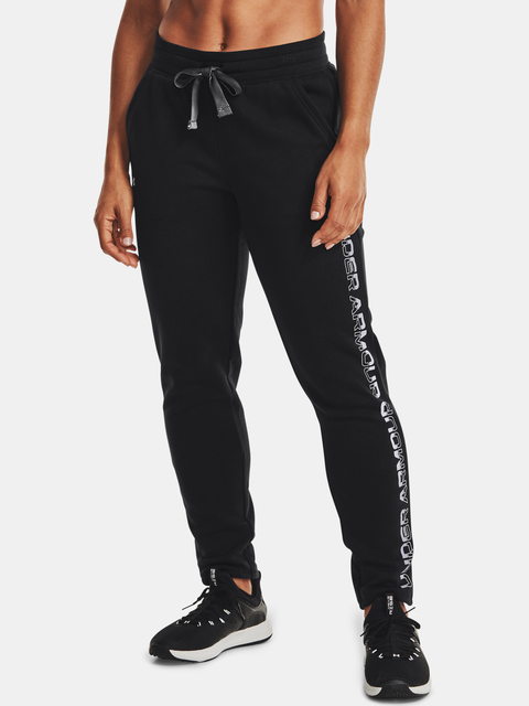 Nohavice Under Armour Rival Fleece Grdient Pant-BLK