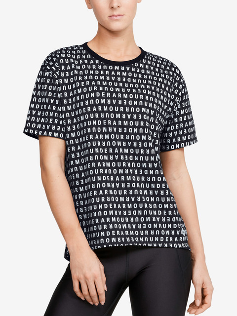 Tričko Under Armour  Logo Print Live SS-BLK
