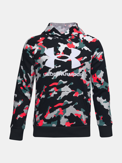 Mikina Under Armour RIVAL FLEECE PRTD HOODIE