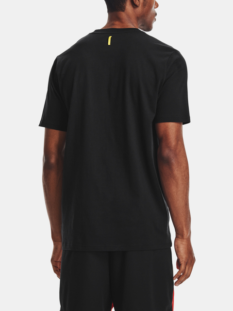 Tričko Under Armour CURRY UNDRTD SPLASH TEE-BLK