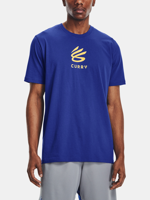Tričko Under Armour CURRY UNDRTD SPLASH TEE-BLU