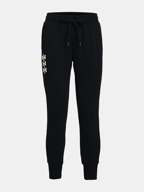 Nohavice Under Armour Rival Fleece Pants-AMP-BLK