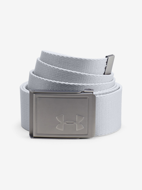 Opasok Under Armour Men's Webbing 2.0 Belt-WHT